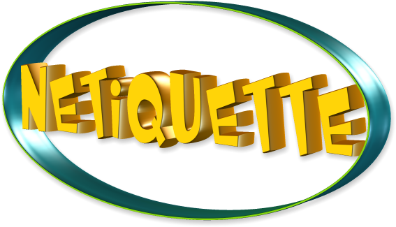 Image result for netiquette clip art