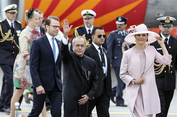 President Shri Pranab Mukherjee Of India In Sweden