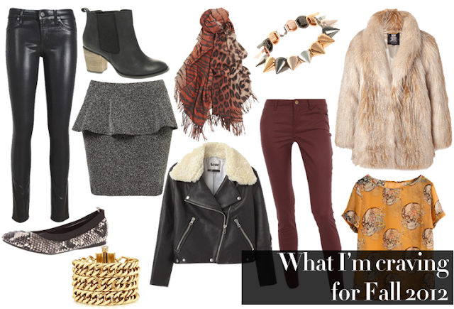 fall shopping must haves trends fall winter 2012 leather pants