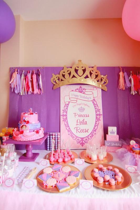 Capes Amp Crowns Client Party Princess Theme