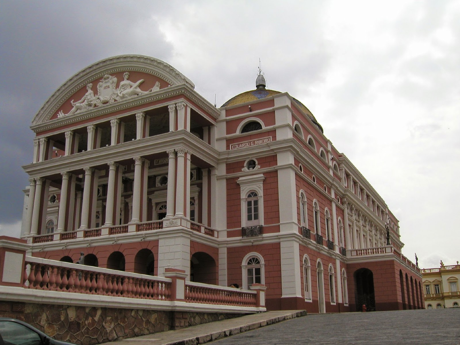 The Opera in Manaus, Brazil