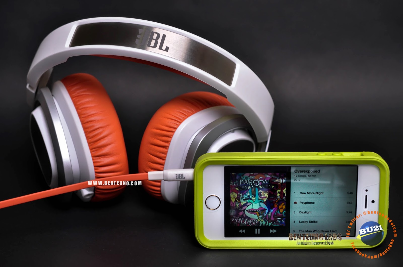 JBL J88 and iPhone 5s