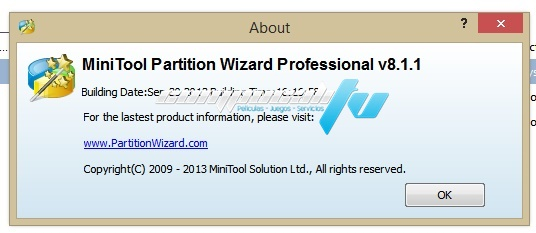 minitool partition wizard professional edition 8.1.1 full crack