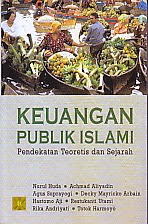 toko buku rahma: buku KEUANGAN PUBLIK ISLAM PENDEKATAN TEORITIS DAN SEJARAH, pengarag nurul huda, penerbit kencana