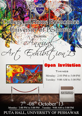 Annual Art Exhibition '13 - Peshawar