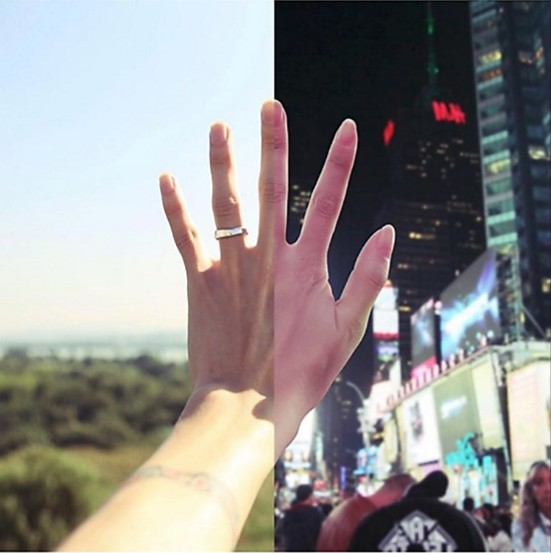 Pasangan LDR Yang Menghubungkan Cinta Mereka Dengan Foto. Sangat Menyentuh