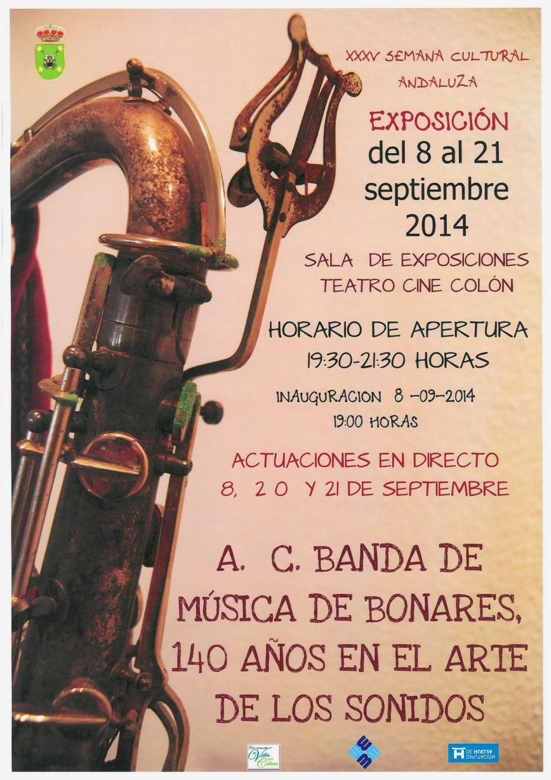 EXPOSICIÓN 140 ANIVERSARIO BANDA MÚSICA