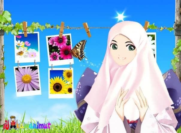 muslimah putih muslimah yang cantik cantiknya muslimah ini tiga ...
