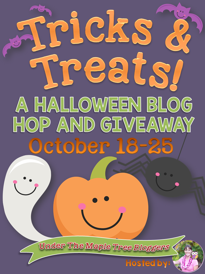 Tricks & Treats: A Halloween Blog Hop and Giveaway!