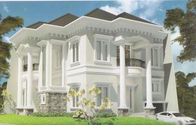 Model Rumah unik Mewah Mediterania