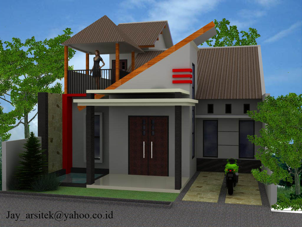 Gambar Rumah : Bentuk-Bentuk Desain Minimalis Modern