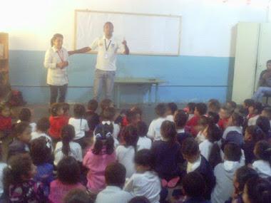 ONA promueve los valores en los estudiantes de la E.E Mahatma Gandhi