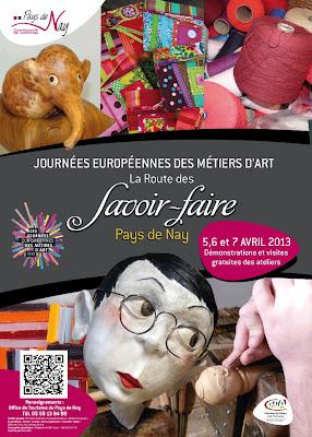Journées Européennes des Métiers d'Art 2013 nay béarn