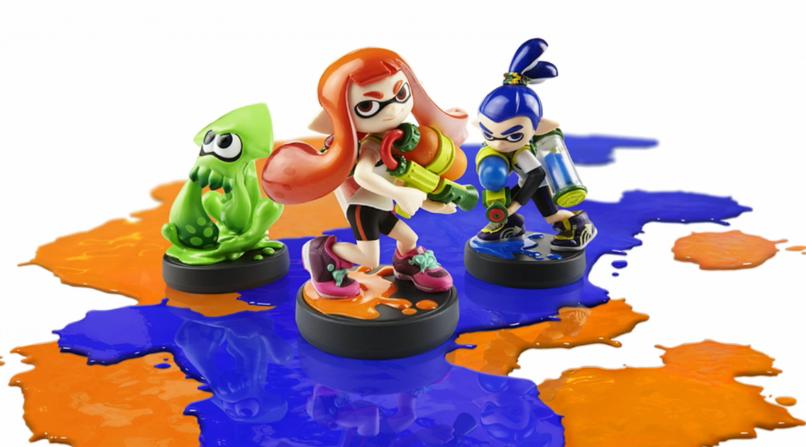 Splatoon amiibo squid Inkling boy girl Nintendo