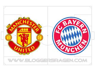 Prediksi Pertandingan Manchester United vs Bayern Munchen