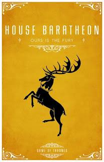 emblema casa Baratheon - Juego de Tronos en los siete reinos