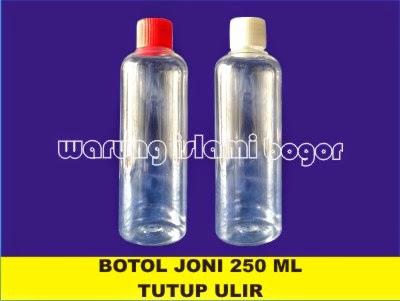 Jual Botol Plastik BR 250ml Tutup Ulir