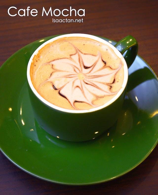 Cafe Mocha - RM12.50 / 13.50 / 14.50
