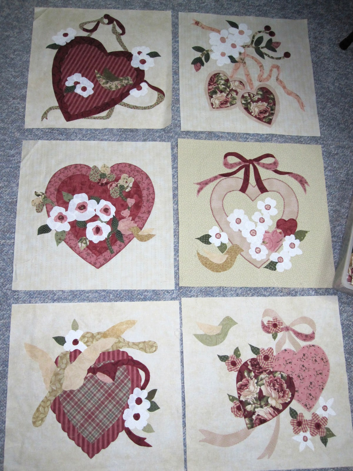 Vintage Valentine | The Vintage Spool - Romantic & Timeless Quilt