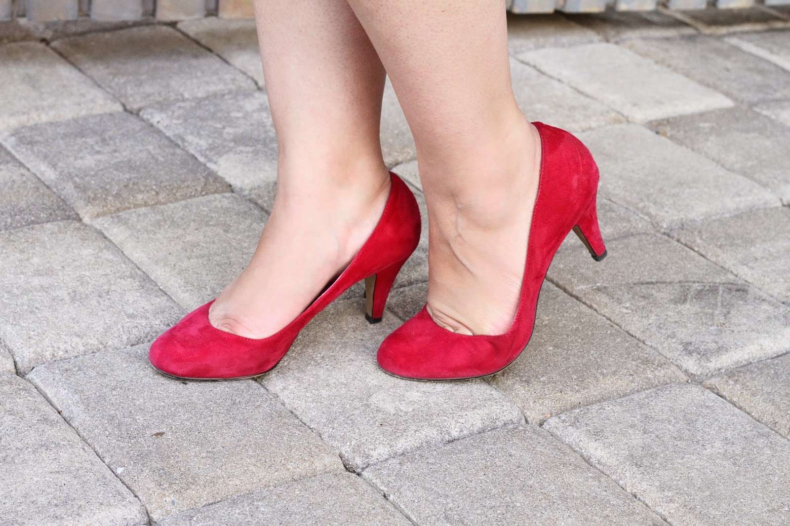 Red Steve Madden Pumps