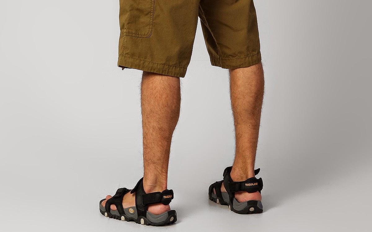 Homem de Sandália masculina Timberland - Pé de Chinelo - Pés Masculinos