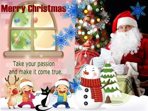 Beautiful Christmas Greeting Cards With Pictures