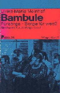 """""""Bambule: ¿rehabilitación social para qué?"""" – libro de Ulrike Meinhof – año 1970 - link de descarga actualizado Bambule"""