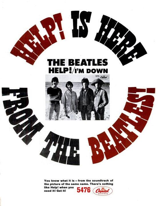 Album vintage de beatles