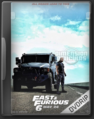 Rapido y Furioso 6 (BRRip FULL HD Inglés Subtitulada) (2013)
