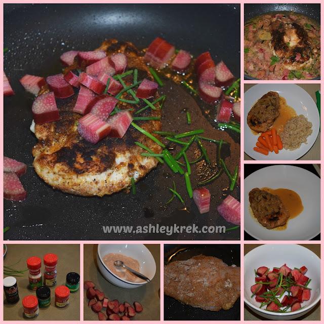 Rhubarb dinner