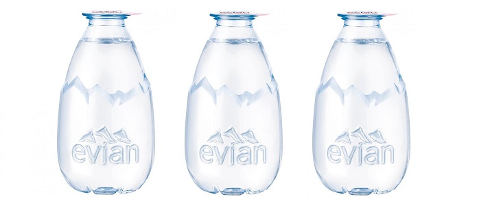 La Goutte D Evian On Packaging Of The World Creative