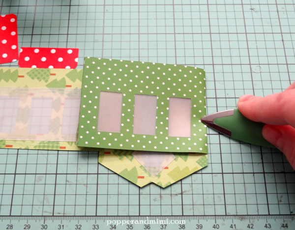 Make crisp folds by pressing paper with a bone folder.