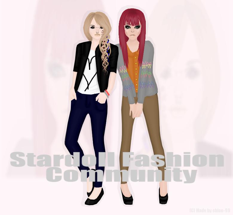 Stardoll's Fashion Community