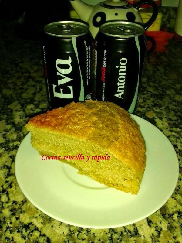 Cocina sencilla y r pida bizcocho de coca cola for Cocina rapida y sencilla