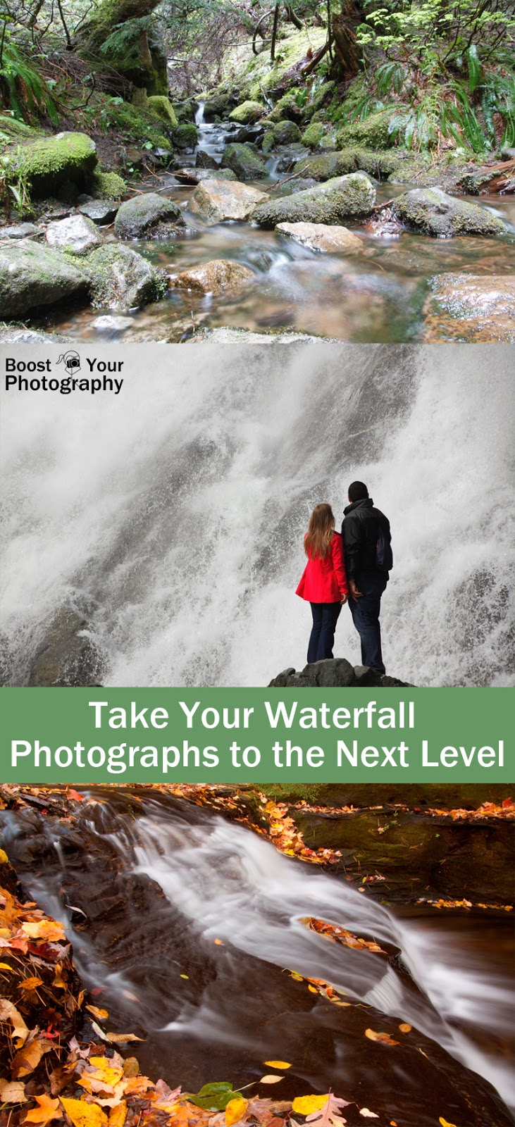Take Your Waterfall Photographs to the Next Level | Boost Your Photography