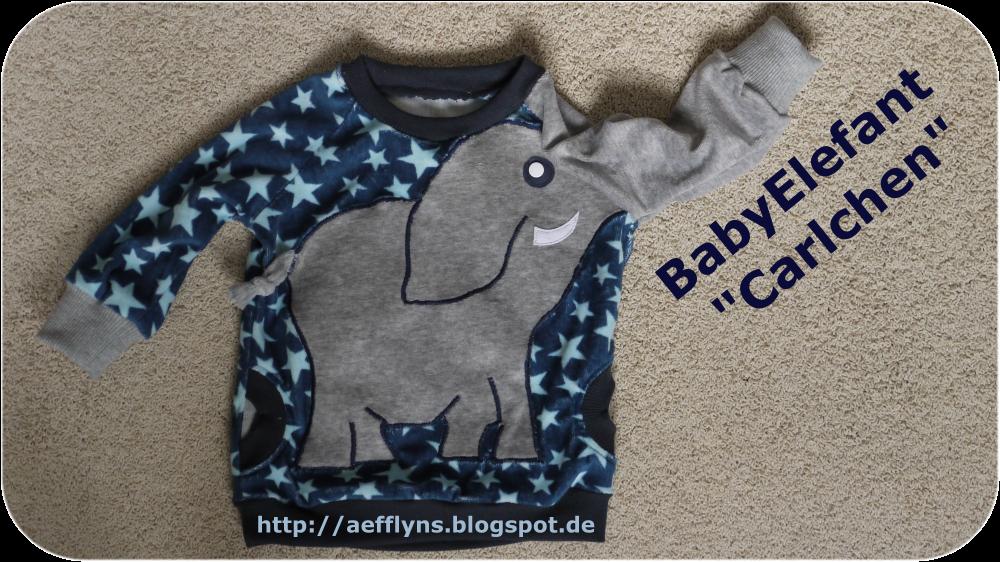 aefflyns to go babyelefant carlchen tutorial ii. Black Bedroom Furniture Sets. Home Design Ideas