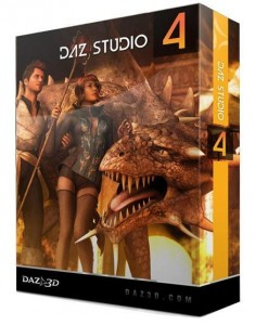 DAZ Studio Pro 4.8.0.59 + Ultimate Bundle Full Serial Number