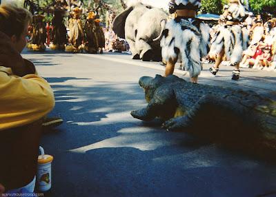 Lion King Celebration Disneyland crocodiles elephant radio controlled