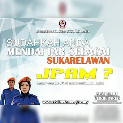 Permohonan Sukarelawan JPAM