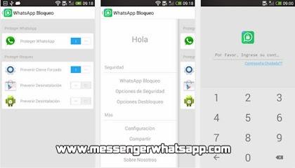 Protege tus mensajes con WhatsApp Bloquear