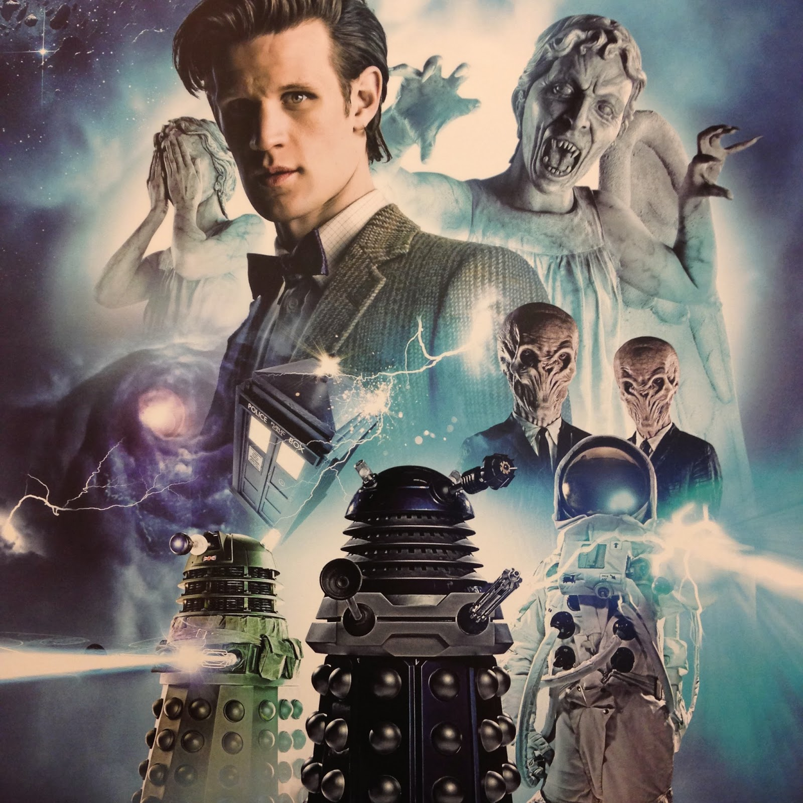 Matt Smith Eleventh Doctor Who Calendar November