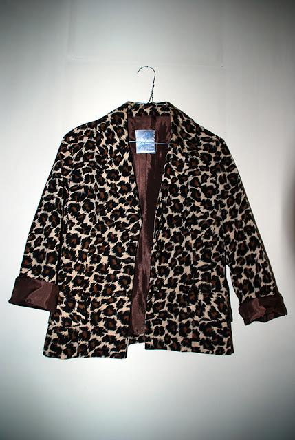 comprar blazer leopardo, roupa vintage
