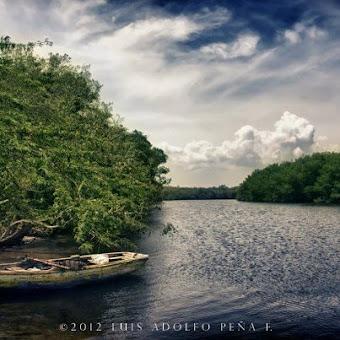 La desembocadura del Rio Masacre por Manzanillo