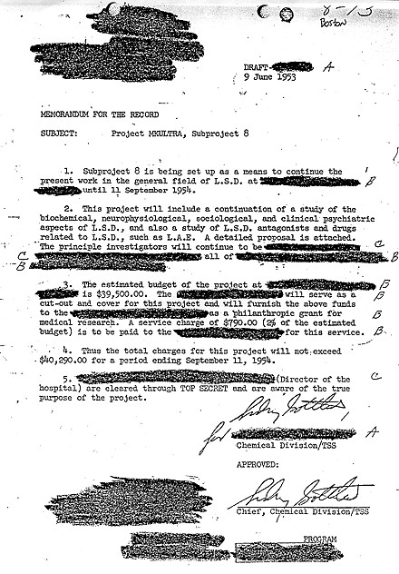MKUltra Document