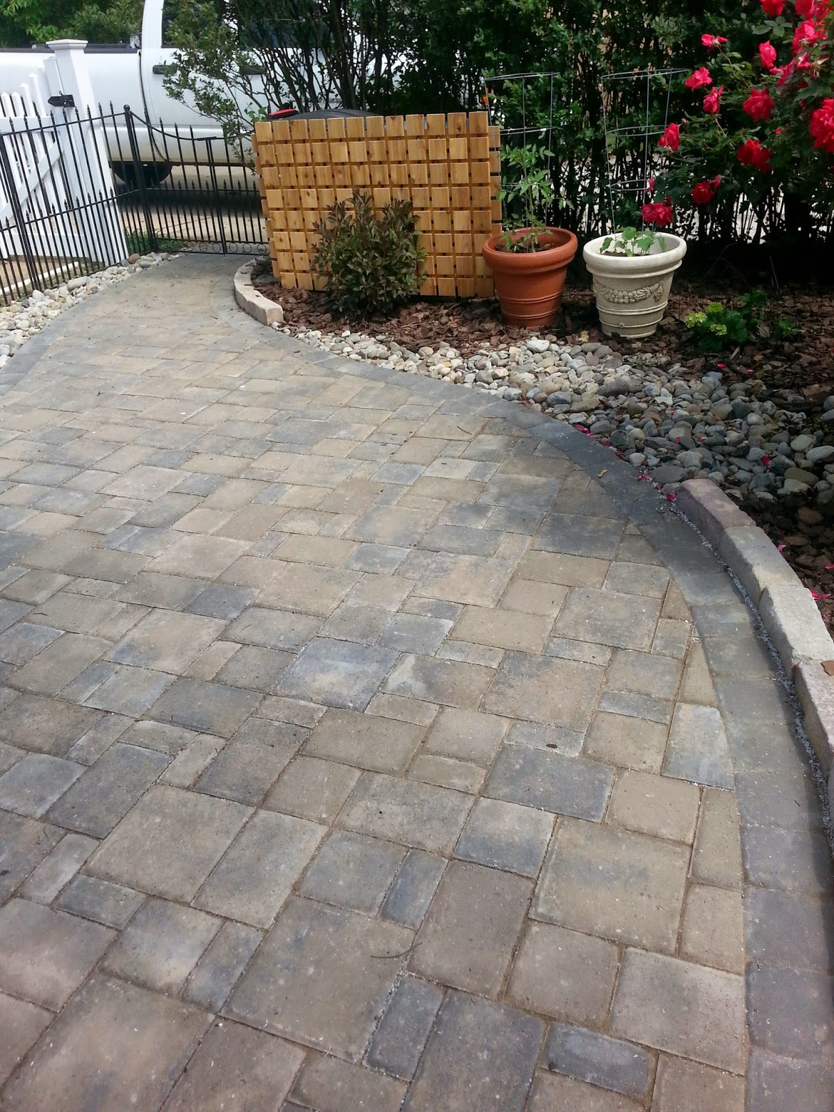 Decorative Stone Patios : Custom stoneworks design inc catonsville patio with