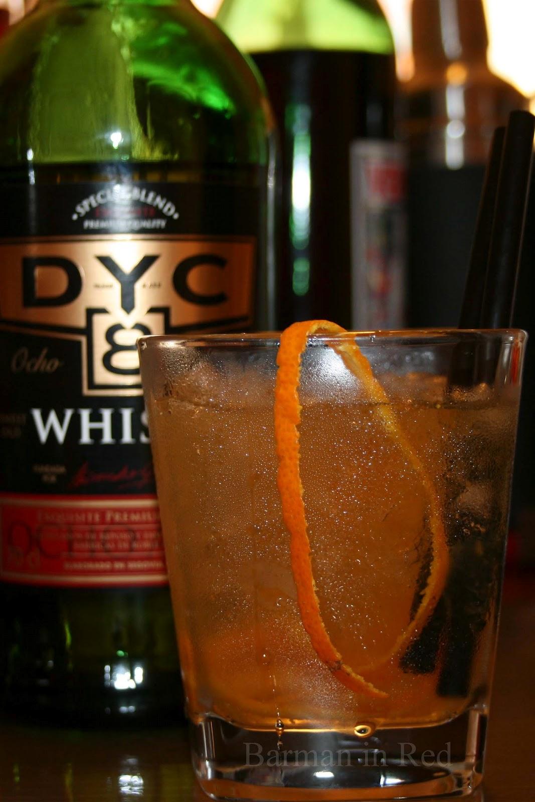 Cocktails con whisky dyc conexyon for Cocktail whisky miel