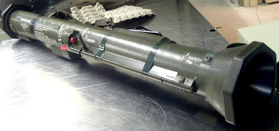 AT-4 Rocket Launcher.