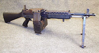 Stoner light machine gun LMG