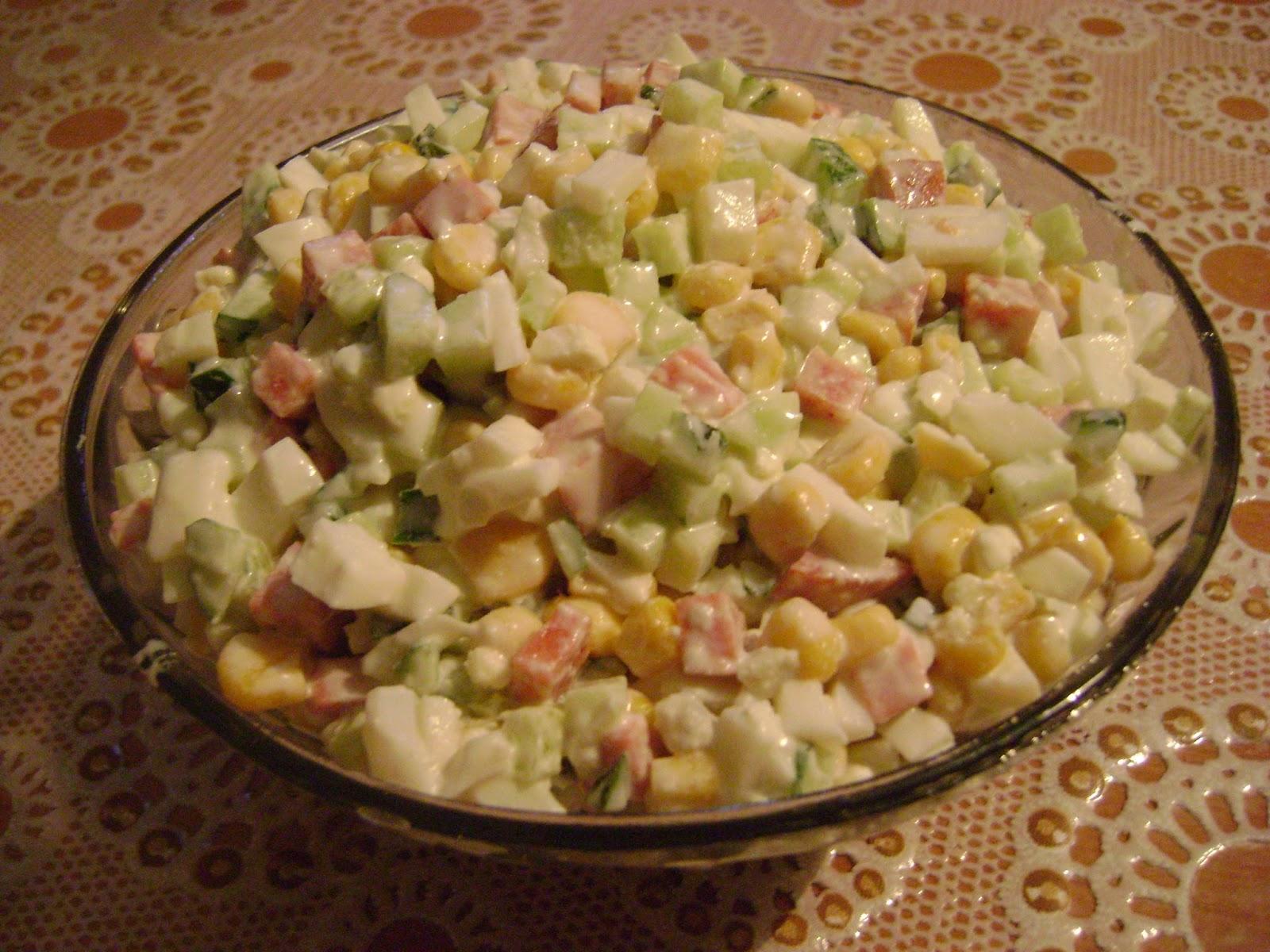 Салат венеция рецепт с колбасой пошагово в