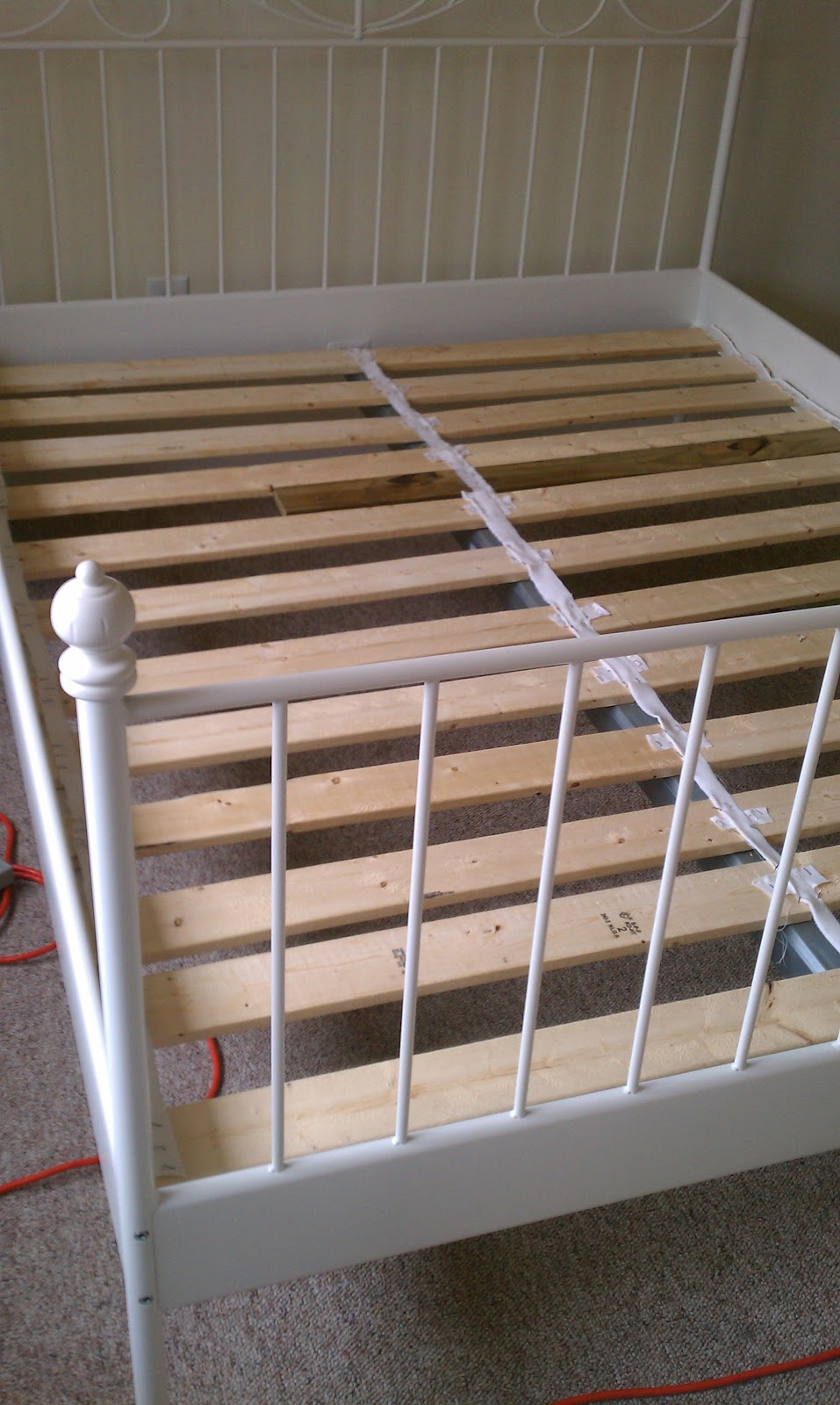 house pour: how to cheat ikea sultan bed slats